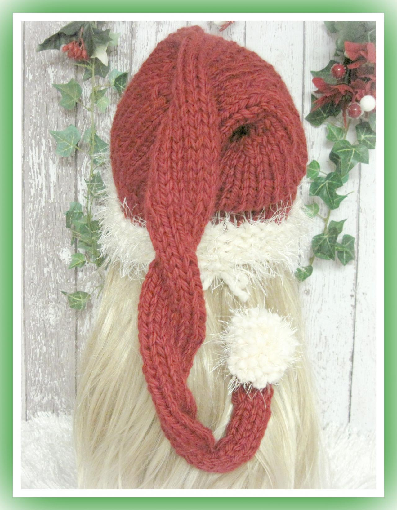 Ho ho santa hat knitting pattern sized preemie baby child and ho ho santa hat knitting pattern sized preemie baby child and adult bankloansurffo Images