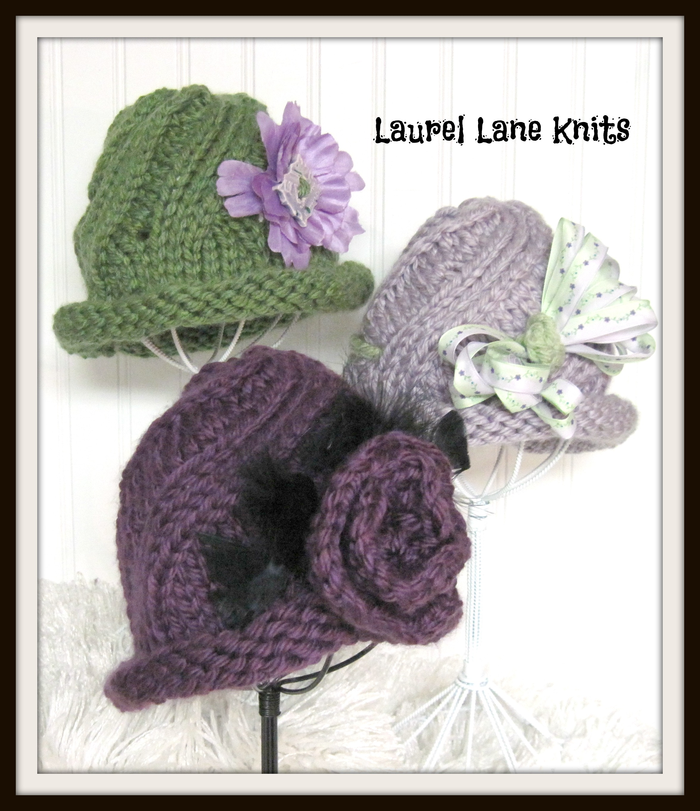 Swirl Cloche Flapper Bucket Hat In Bulky Yarn Knitting Pattern Sized ...